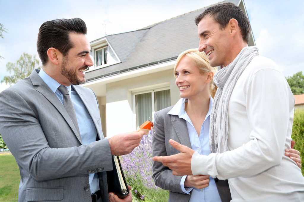 realtor and clients